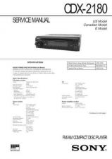 Buy Sony CDX-2180 Service Manual by download Mauritron #237435