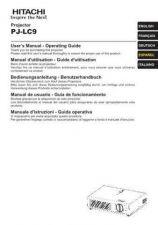 Buy Hitachi PJ-LC5_FI Service Manual by download Mauritron #263738