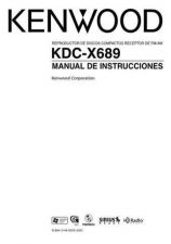 Buy Kenwood KDC-X715 Operating Guide by download Mauritron #219116