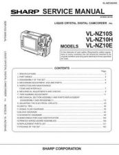 Buy Sharp VLNZ10741 Service Manual by download Mauritron #211204