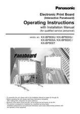 Buy Panasonic KXF2350 2450 Operating Instruction Book by download Mauritron #23601