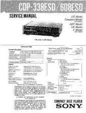 Buy Sony CDP-36 Technical Information by download Mauritron #235418