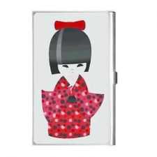 Buy Japanese Japan Kokeshi Doll Business Credit Card Holder