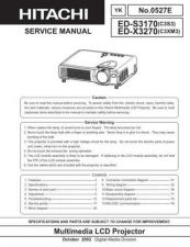 Buy Hitachi ED-S3350 NO Manual by download Mauritron #225095