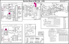 Buy mc74a pcb smps Service Information by download #113122