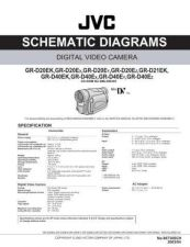 Buy JVC GR-D40EY sch Service Manual Schematic Circuit. by download Mauritron #270602