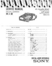 Buy Sony PCM-2000.. Service Manual. by download Mauritron #243423