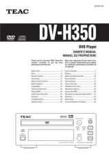 Buy Teac DV-H350(EF) Service Manual by download Mauritron #223712