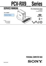 Buy Sony PCV-RX7-M SERIES Service Manual. by download Mauritron #243475