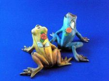 Buy Pair of hand painted frogs