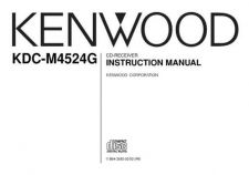 Buy Kenwood KDC-M6021 Operating Guide by download Mauritron #221952