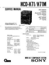 Buy Sony HCD-H701K Manual by download Mauritron #229228