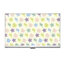 Buy Seashell Starfish Pattern Business Credit Card Holder Case