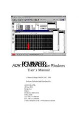 Buy AOR PCMANW-M OPERATING by download #117388