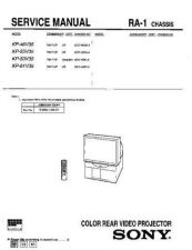 Buy Sony KP-53SV70C Service Manual. by download Mauritron #242117