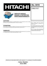Buy Hitachi CM-640U-ET Service Manual by download Mauritron #260683