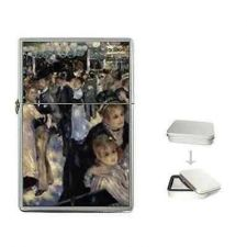 Buy Renoir French Art Cigarette Flip Top Lighter