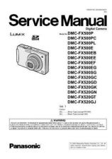 Buy Panasonic DMC-FX9EGM Service Manual with Schematics by download Mauritron #266757