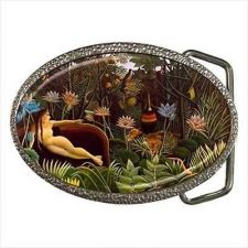 Buy The Dream Henri Rousseau Fine Art Unisex Belt Buckle