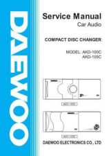 Buy Daewoo. AKD-100C. Manual by download Mauritron #212506