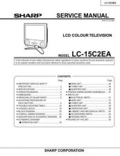 Buy Sharp LC15C2H-M Service Manual by download Mauritron #209854