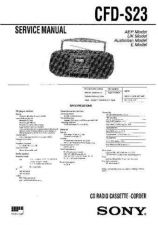 Buy Sony CFD-G30-G50 Manual-1662 by download Mauritron #228336