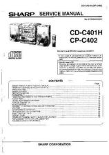 Buy Sharp CDC401H-CPC402 Service Manual by download Mauritron #208480