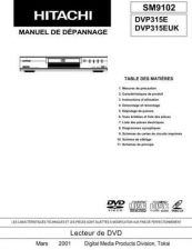 Buy Sony DVP315E-2 Service Manual by download Mauritron #231952
