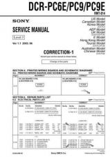 Buy Sony DCR-TRV33_TRV33E lev1 Service Manual by download Mauritron #239801