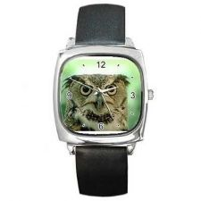 Buy Owl Square Unisex Wrist Watch