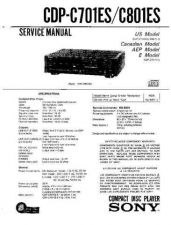 Buy Sony cdp-c67es-c615 Service Manual by download Mauritron #237299