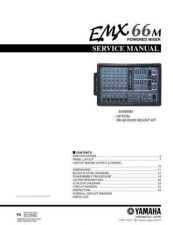 Buy Yamaha EMX62M MAIN (2) Manual by download Mauritron #256866