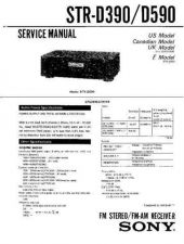 Buy Sony STR-D760Z Service Manual. by download Mauritron #245038
