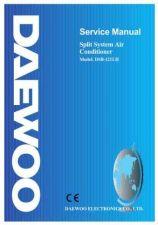 Buy Daewoo. SM_DSB-124LH-V_(E). Manual by download Mauritron #213319