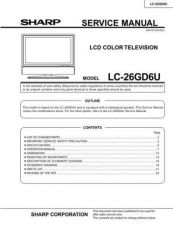 Buy Sharp LC30HV4U Service Manual by download Mauritron #209949