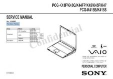 Buy Sony PCG-GRS150-GRS170 Service Manual. by download Mauritron #243315