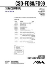 Buy Sony CSD-FD99 Manual-1663 by download Mauritron #228430