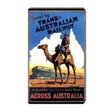 Buy Australia Railway Train Travel Tourism Art Vinyl Magnet