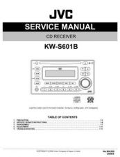 Buy JVC KW-S601B Service Manual Schematic Circuit. by download Mauritron #271781