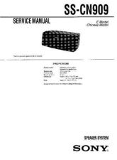 Buy Sony ss-cn3 Service Manual. by download Mauritron #244692
