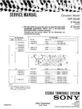 Buy Sony PS-LX62 Service Manual. by download Mauritron #243558