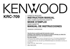 Buy Kenwood KRC-709 Operating Guide by download Mauritron #219393
