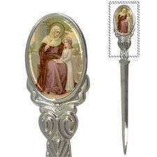 Buy St Anne Patron Saint Of Mothers Pregnancy Art Mail Letter Opener
