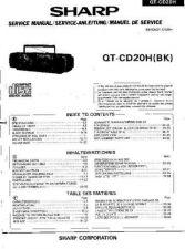 Buy Sharp QTCD20H -DE-FR(1) Service Manual by download Mauritron #210219