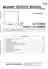 Buy Sharp LC12A2E (1) Service Manual by download Mauritron #209778