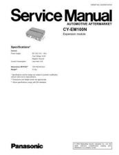 Buy Panasonic DMC-FS3EB Service Manual with Schematics by download Mauritron #266572