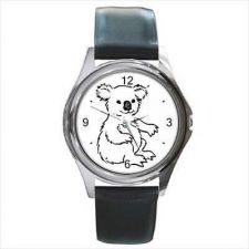Buy Koala Unisex Round Wrist Watch