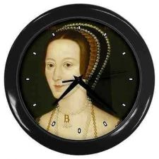 Buy Queen Anne Boleyn Henry VIII Wife Royalty Art Wall Clock