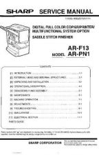 Buy Sharp ARFN1 Service Manual by download Mauritron #208271