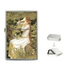 Buy Ophelia John William Waterhouse Cigarette Flip Top Lighter